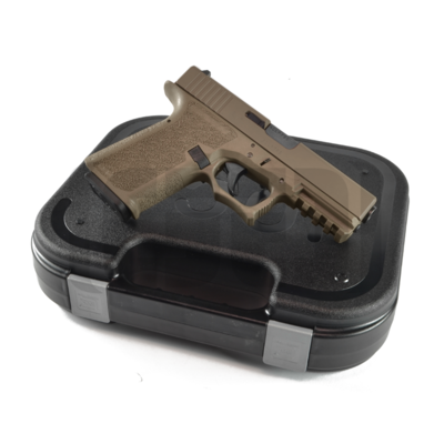 Glock G17 FDE 80% Pistol Build Kit - 9mm - Polymer80