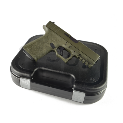 Glock G23 - 80% Pistol Build Kit 40 S&W - Polymer80 PF940C - OD Green
