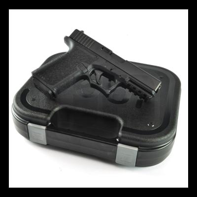 Glock G19 - 80% Pistol Build Kit 9mm - Fits: Polymer80 PF940C - Black - FRAME NOT INCLUDED