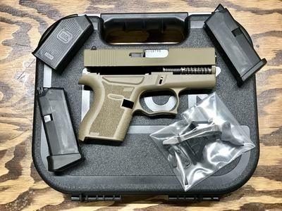 Glock 43 FDE 80% Build Kit SS80