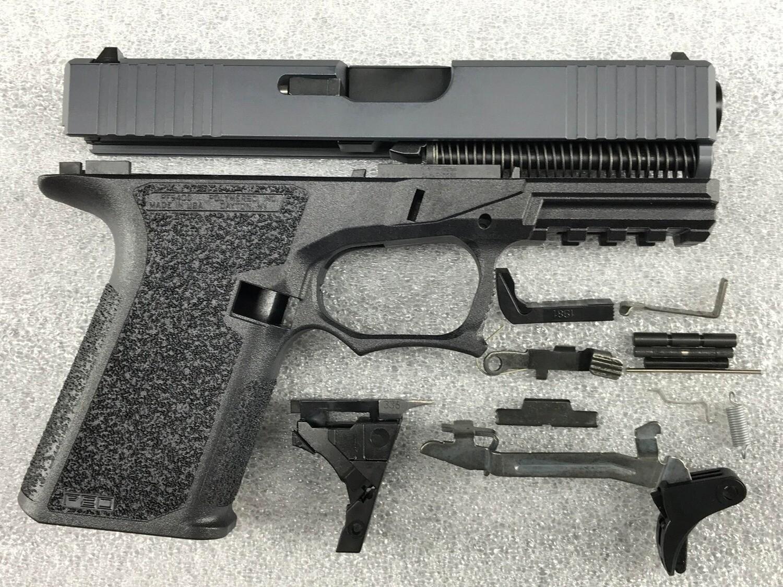 Patriot G19 80% Pistol Build Kit 9mm - Polymer80 PF940C - Gray / Black