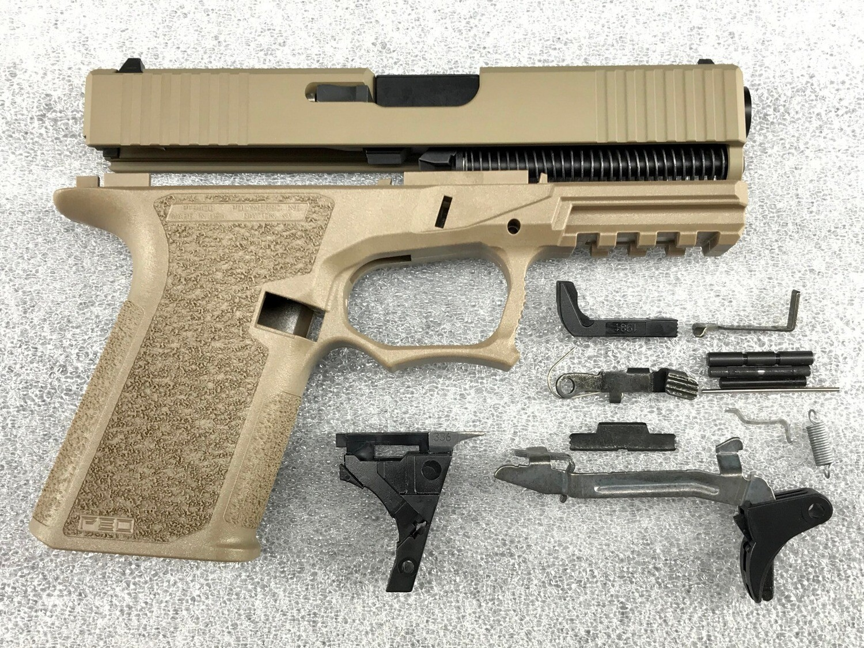 Patriot G19 80% Pistol Build Kit 9mm - Polymer80 PF940C - FDE
