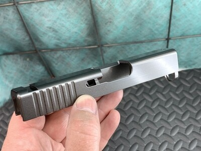 Glock 43 Slide With Rear Serrations - Pick Your Color