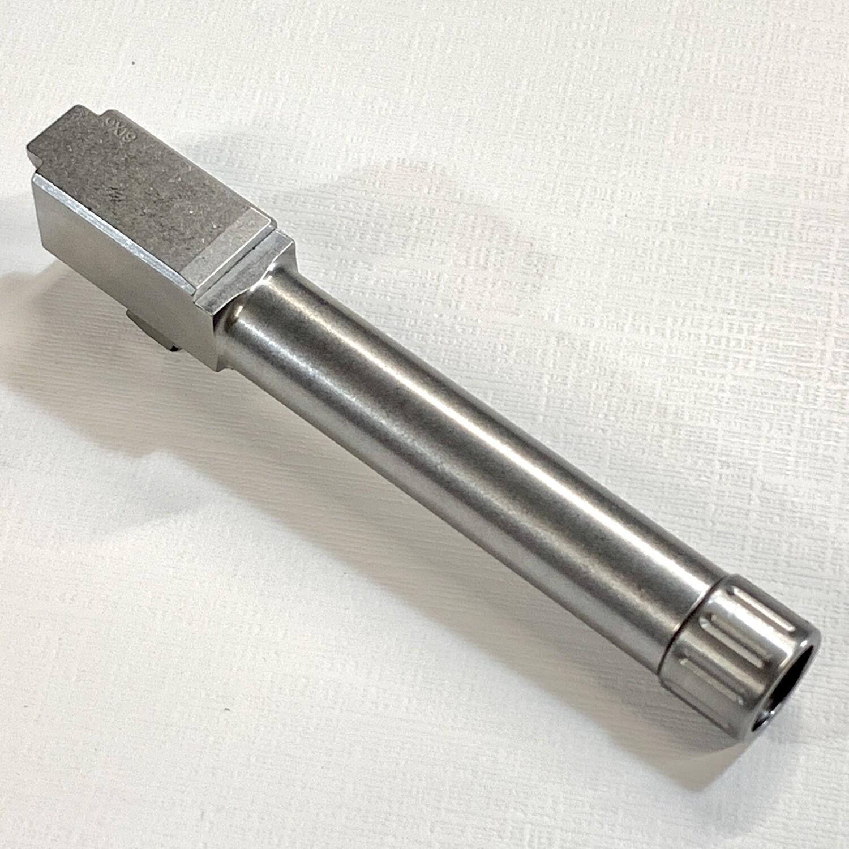 Premium Glock 19 Stainless 9mm Threaded Barrel