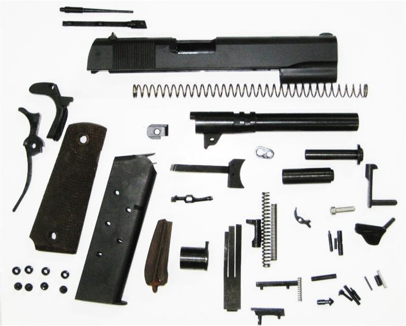 1911 Government GI 70 Series 45 ACP Parts Kit