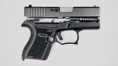 SALE!!! 80% Glock 43 Subcompact Full Pistol Build Kit - Black / Black