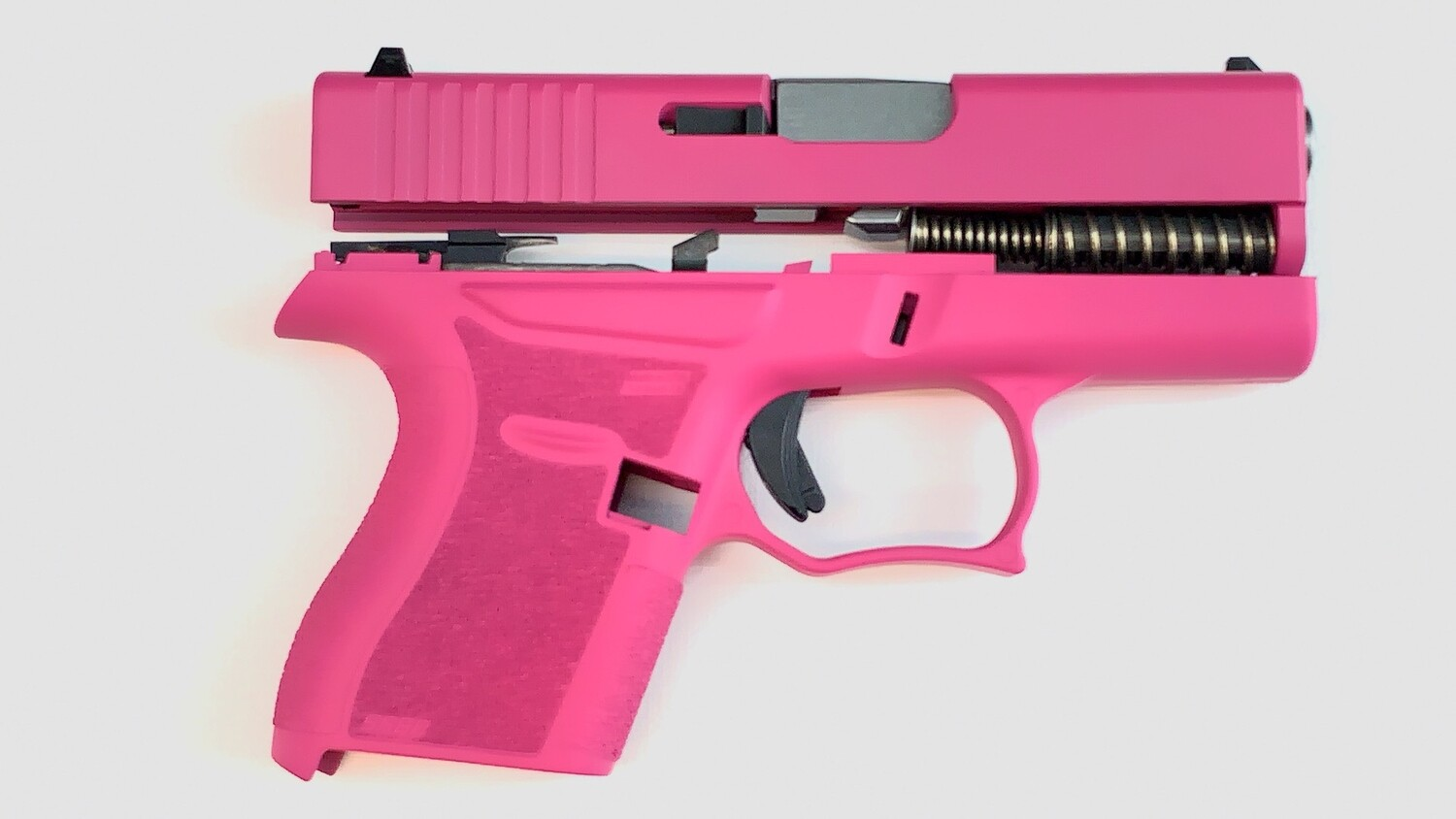 80% Glock 43 Subcompact Full Pistol Build Kit Sig Pink