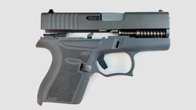 80% Glock 43 Subcompact Full Pistol Build Kit Grey / Grey