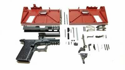 80% Polymer80 Freedom Windowed Slide, RMR Pistol Build Kit 9mm You Pick G19 Compact - G17 Full Size & Color