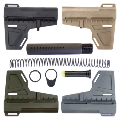 AR-15 KAK Shockwave Blade Pistol Tube Kit