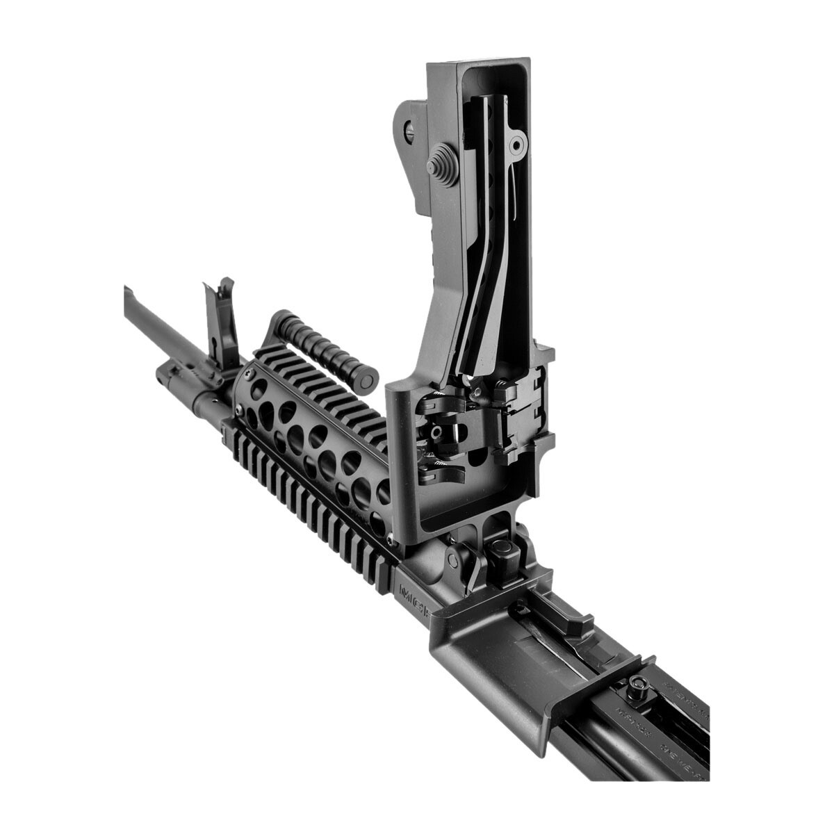 Fightlite Industries - MCR Belt-FED 5 56 Upper Receiver Full Auto