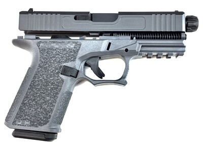 Patriot G19 80% Pistol Build Kit With Threaded 9mm Barrel - Polymer80 PF940C - Gray