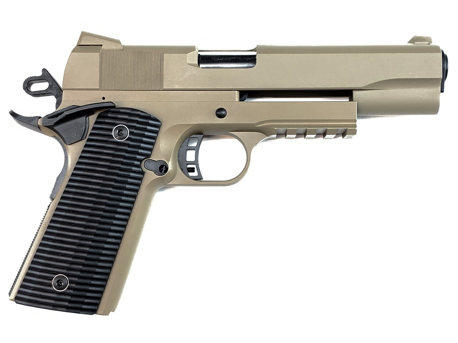 1911 Tactical 80% Builders Kit FDE - Choose Your Caliber .45 ACP or 9mm