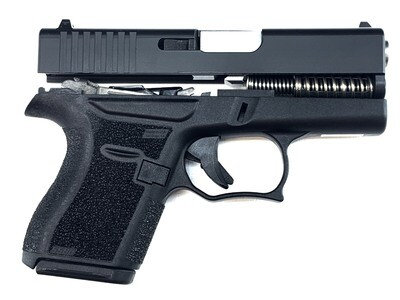 SALE!!! 80% Glock 43 Subcompact Full Pistol Build Kit - ETS 7rd Magazine - Black / Black