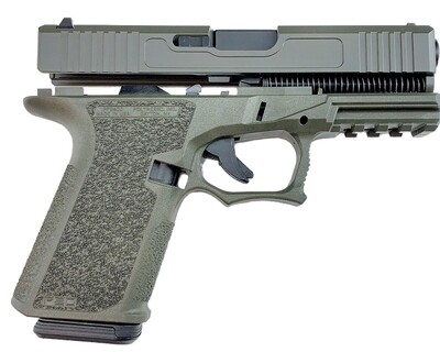 Patriot G19 80% Pistol Build Kit 9mm - Polymer80 PF940C - OD Green - 10rd Mag - FRAME NOT INCLUDED