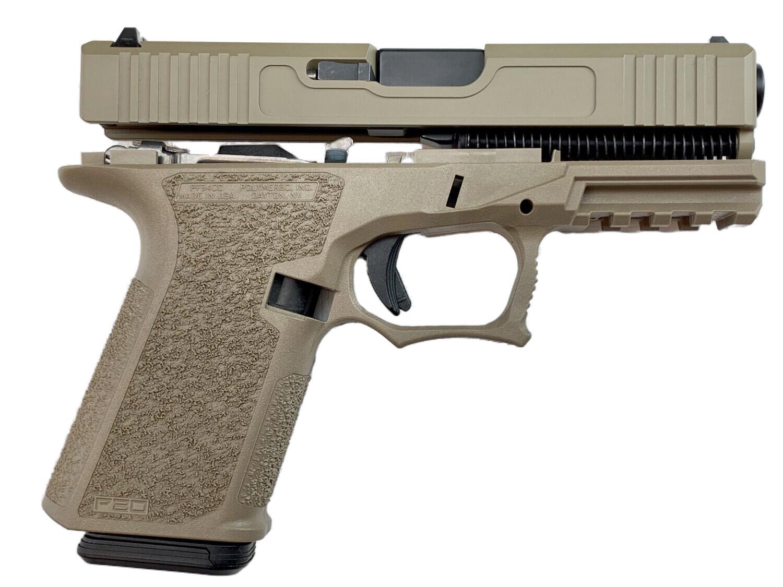 Patriot G19 80% Pistol Build Kit 9mm - Polymer80 PF940C - FDE - 10rd Mag