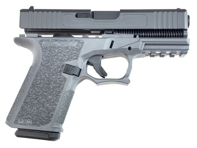 Patriot G19 80% Pistol Build Kit - Polymer80 PF940C - Gray With Magpul 10rd Magazine