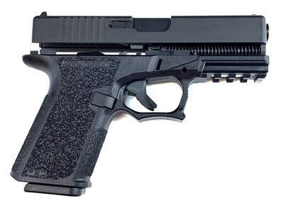 Patriot G23 80% Pistol Build Kit .40 Cal - Polymer80 PF940C - Black - Glock OEM 10rd Mag