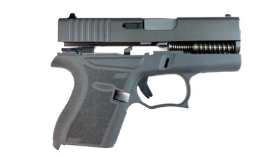80% Glock 43 Subcompact Full Pistol Build Kit - Grey / Grey