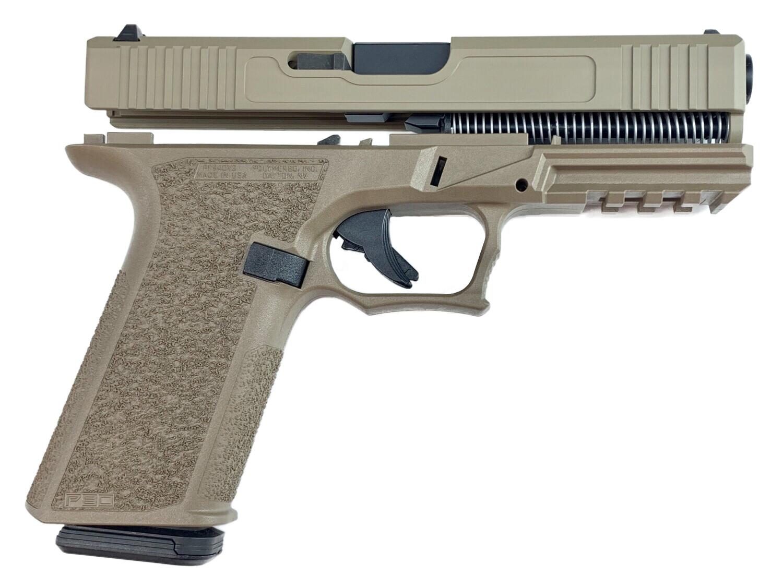 Patriot G17 80% Pistol Build Kit 9mm - Polymer80 PF940V2 - FDE - 10rd Mag