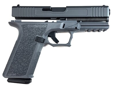 Patriot G17 80% Pistol Build Kit 9mm - Polymer80 PF940V2 - Gray - 10rd Mag