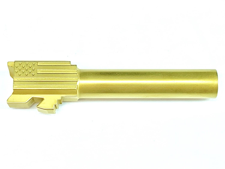 Glock 19 Premium Stainless Gold Tin