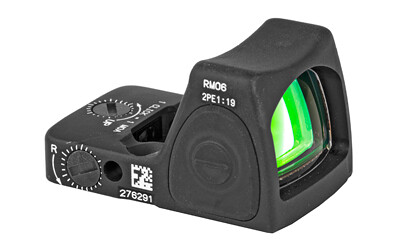 Trijicon RMR Reflex Type 1 3.25 MOA LED Adjustable Sight - Matte Finish