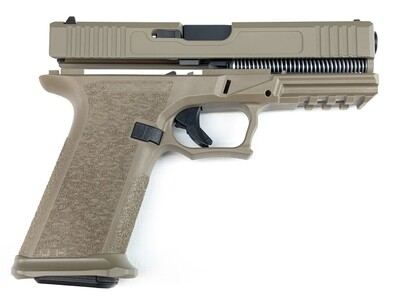Patriot G19 80% Pistol Build Kit 9mm - Polymer80 PF940C - FDE - Steel City Arsenal Magwell FDE - 10rd Mag