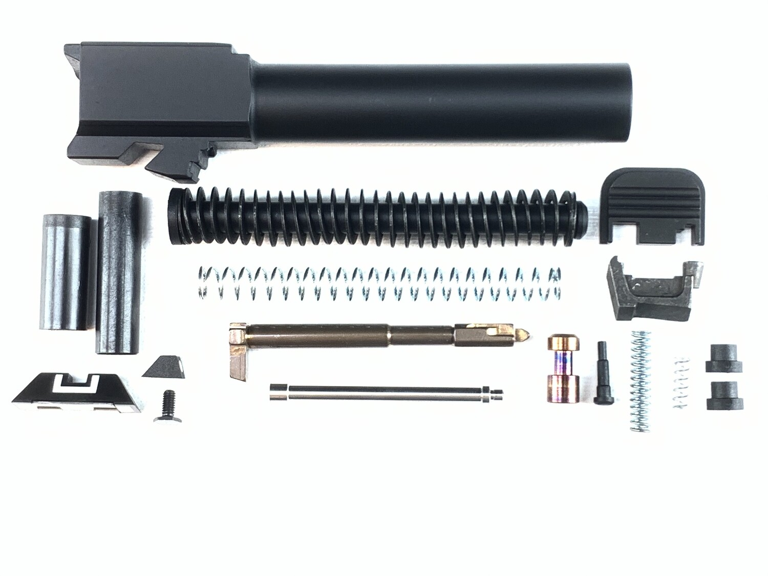 Slide Upper Parts Build Kit - Fits Glock - G19, G17, G26 - Includes Sights, Guide Rod & Barrel