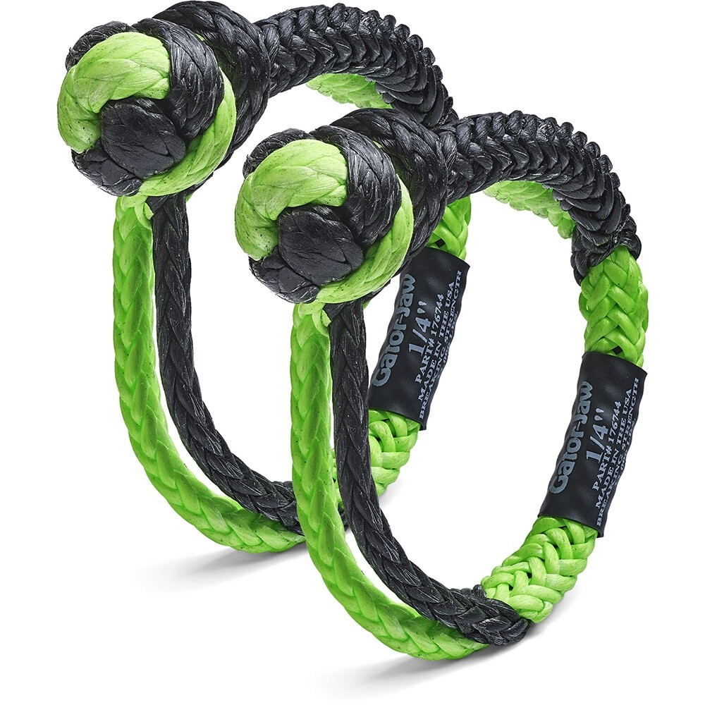 MINI GATOR-JAW® SYNTHETIC SHACKLE