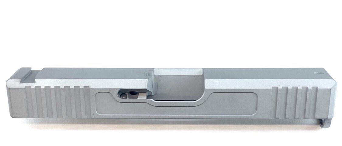 """""""Glock G19/G17 Slide"""" Front & Back Serrations - Recessed Windows On Each Side - Pick Your Color"""