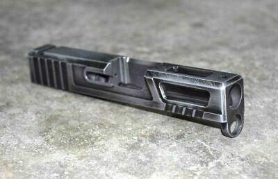 [Ultralight] Slide for Glock 43 9mm Battleworn Gray
