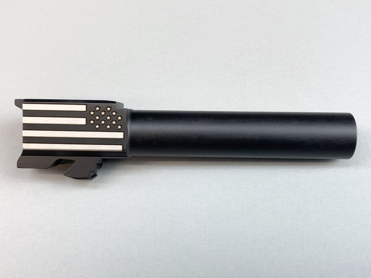 Glock 23 Battle Flag Barrel - 40 S&W - Black Nitride Coated