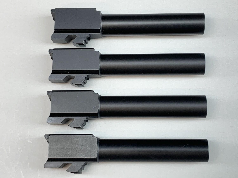 """""""Battle Pack"""" - Includes 4 Count of Glock 26 Barrels - 9mm - Black Nitride Coated"""