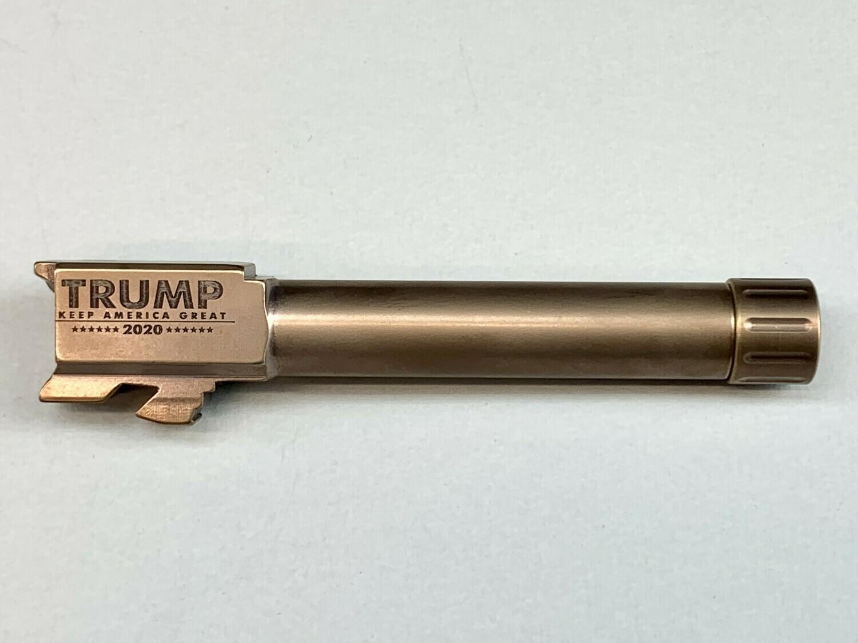 Premium Copper DLC Glock 19 Stainless