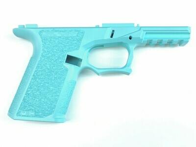 Glock Pistol Lower 80% Cerakoted TIFFANY BLUE Frame Kit - PF940C™ 80% Compact Pistol Frame