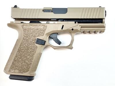 Patriot G19 RMR 80% Pistol Build Kit 9mm - Polymer80 PF940C - FDE - 10rd Mag