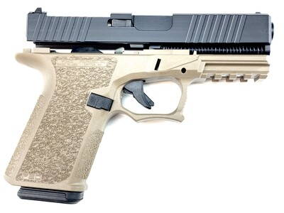 Patriot G19 RMR 80% Pistol Build Kit 9mm - Polymer80 PF940C - FDE-BLK - 10rd Mag