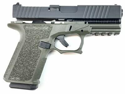 Patriot G19 RMR 80% Pistol Build Kit 9mm - Polymer80 PF940C - OD/BLACK- 10rd Mag