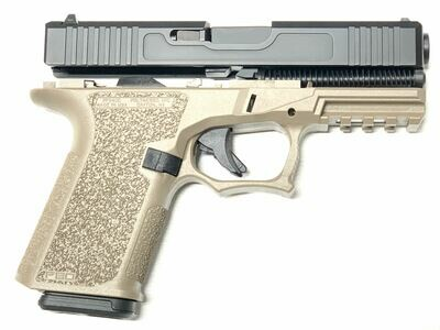 Patriot G19 80% Pistol Build Kit - Polymer80 PF940C - FDE / BLACK