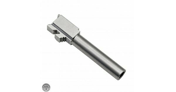 GLOCK 22 Stainless Steel 40 S&W - 9mm CONVERSION BARREL