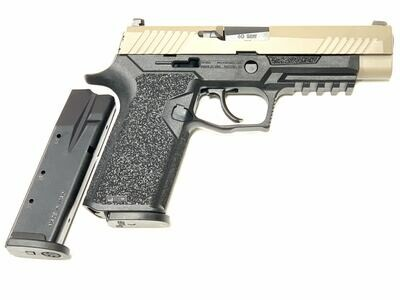 80% Sig Sauer - P320 Full Size - 40 S&W - Comes With 2 Mags - Polymer80 PF320PTEX Black Frame - FDE Tan Slide