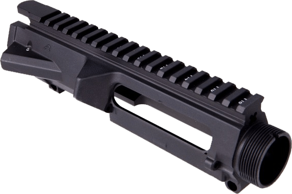 Aero Stripped Upper - Anodized Black T-Marked w/ M4 Feed Ramps (5 Pack)
