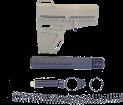 AR-15 PISTOL TUBE KIT KAK SHOCKWAVE PACKAGE - FDE