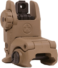 Magpul - MBUS Rear Flip Sight GEN 2 - FDE