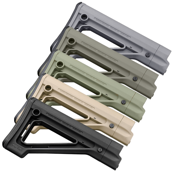 Magpul MOE Carb Stock Military-Special w/ Color Options: Black, FDE, Foliage, OD Green