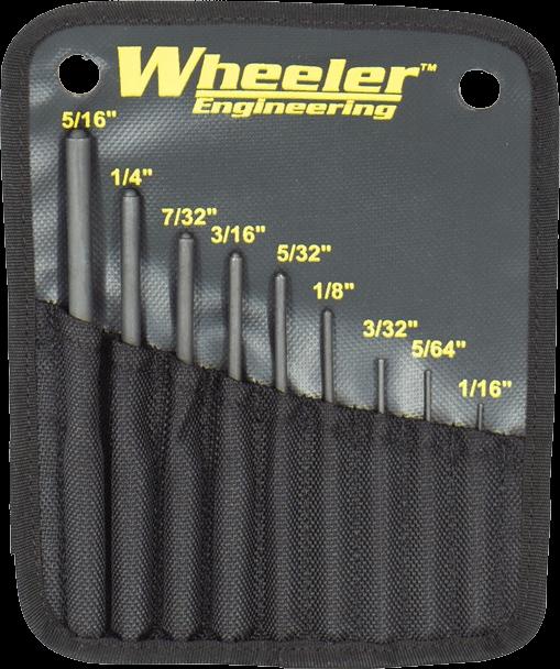 Wheeler Roll Pin Punch Set
