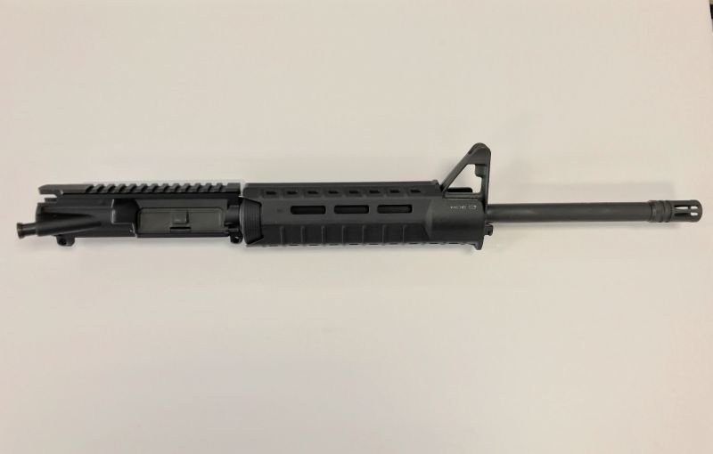 5.56 1/8 Twist Complete Upper w/ Front Sight Base Magpul Moe SL Hand Guard BLACK