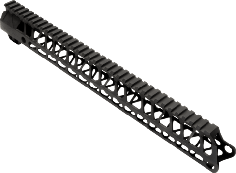 "Enforcer - 15"" Hand Guard - E15 HG - Black Type III - Hard Coat Anodized"