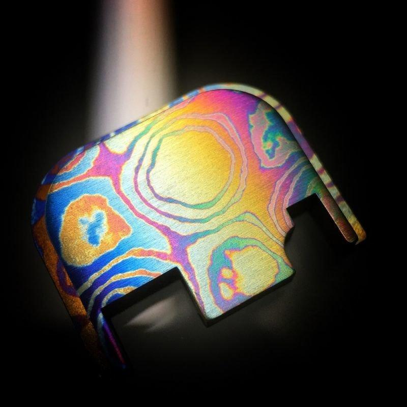 Standard Moku-Ti Glock Back Plate #21